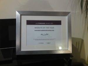 Award certificate.